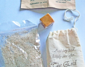 Apple Cider or Hot Chocolate Mix Bags Wedding Favor or Favor for Any Occasion- Set of 100