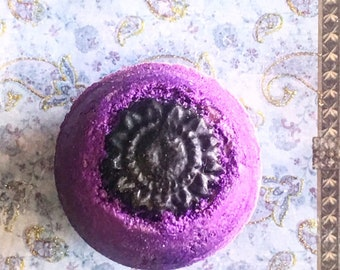 Purple Rain,  Bath Bomb Fizzy Handmade in USA -All Natural Aromatherapy - Fun Colorful – Popnatural (#10)