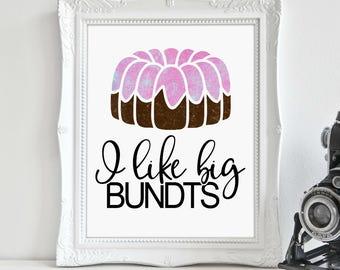 Cake Print, Kitchen Print, Baking Art, Kitchen Wall Art, Wall Art, Printable Art, Printable Wall Décor, Instant Download, Digital Print