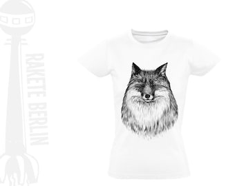 Lady T-Shirt 'Fox'