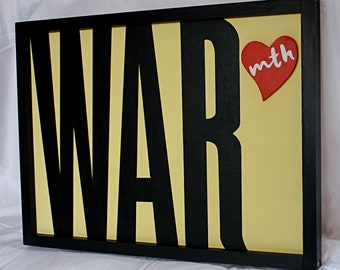 conflict or care : typographic art