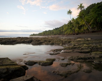 Beach Photography,Art & Collectibles,Large Wall Art,Fine Art Photography,Landscape Print,Wall Decor,Wall Art,Lustre Print,Costa Rica Beach