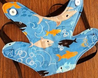 Shark Carrier - Doll Carrier - Doll Holder - Baby Doll Carrier - Stuffed Animal Carrier - Teddy Bear Carrier - Shark Attack Doll Accessories