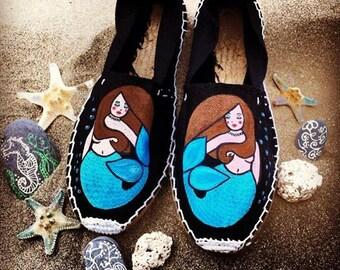 ESPADRILLES «Sirène & mer»
