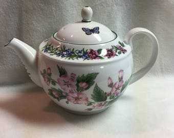 Royal Worchester Herbs Teapot (#006)