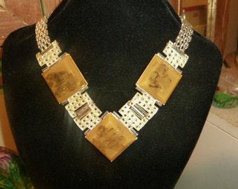Vintage necklace signed Luigi Briglia
