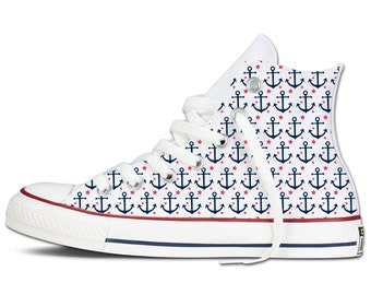 Anchors Away Custom Chucks