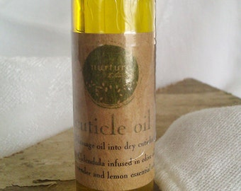 Cuticle and Nail Oil made with essential oils