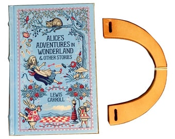 Book Purse: Alice's Adventures in Wonderland & Other Stories - Lewis Carroll - Made to Order
