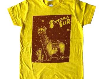 Sonoma Suri (alpaca youth tee)