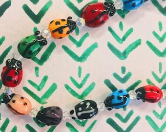 Magical Ladybug Necklace