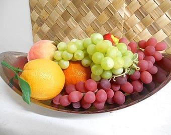 Retro Vintage Decorative Fruit Collection -  1970s Display