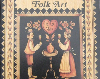 The Basics of Folk Art Tole Painting Pattern Book Jo Sonja