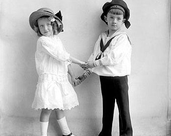 Brother And Sister 1900's Photo
