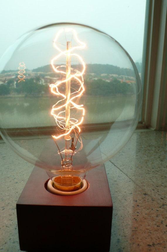 1 Antique Super Large Vintage Edison Bulb 40w 220v Radiolight AP125B  Squirrel Cage Lamp Filament Light From BigToy On Etsy Studio