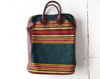 Rare LL Bean Tote | 1930s Bag | Picnic Tote