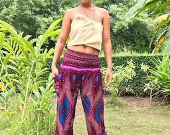 Purple Yoga Clothes // Pink Bohemian Clothes // Hippie Clothes // Boho Clothes // Festival Clothes // Music Festival Clothes // Meditation