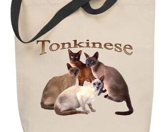 Tonkinese Cat Tote Bag