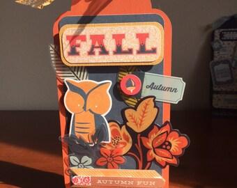Fall/Autumn tabletop decor