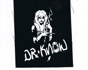 Dr Know Band Punk Patch