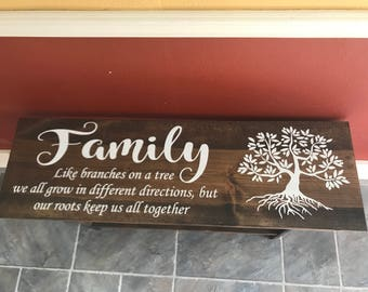 Family Bench