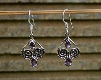Sterling Balinese Earrings