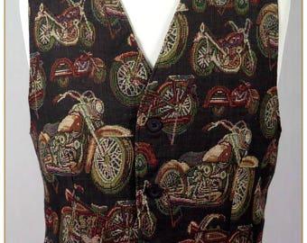 Men's Motorcycle Vest