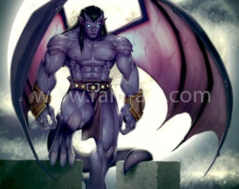 Goliath from Gargoyles 12x18 Art Print