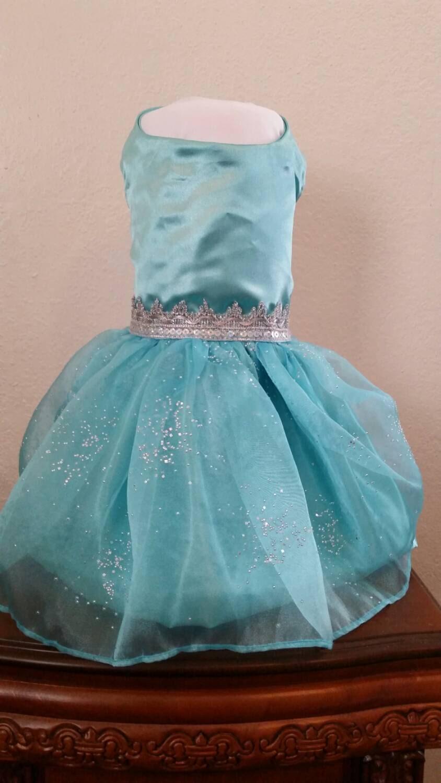 Elsa Frozen dress inspired Wedding Flower Girl Pageant