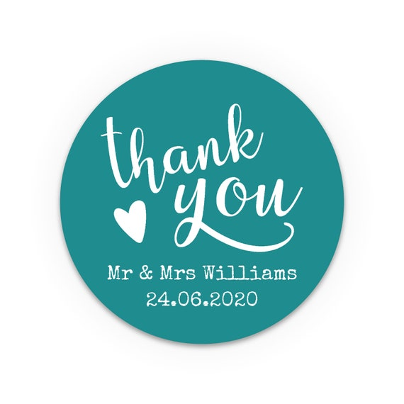 Thank You Stickers, Wedding favor labels personalized, Rustic wedding favors for guests, Unique wedding favors, Wedding stickers thank you