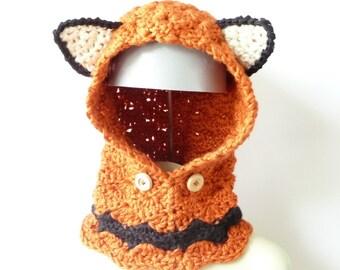 CROCHET PATTERN Hoodie Cowl Crochet Pattern Chunky Hood Pattern Cowl Hoodie Pattern Hat Crochet Pattern Chunky Cowl Crochet Pattern Cowl PDF