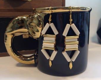 Ethnic inspired earrings