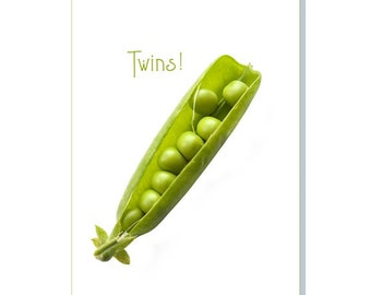 The Peas In The Pod Say - Twins!