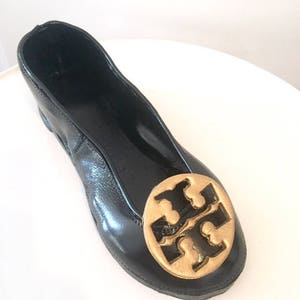 Edible Tory burch sugar shoes flat cake topper edible decoration super cute  fondant gumpaste