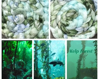 Kelp Forest--Hand-dyed Seacell, 4.2 ounces