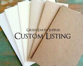 Custom order for Coral (click Item Details for specific information/description of order)