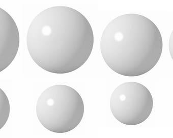 8 Ball Delrin Coin Ring Making Ball Assortment