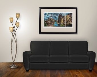 Connect With Smith Rock Giclee (20x36 Limited Edition)