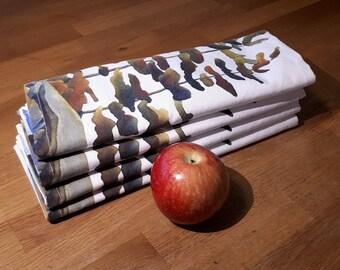 Linen Blend PlaceMats - Canadian Artist Print: Peaceful