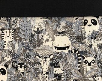 FABRIC OPTIONS Project Bag - yarn/knitting/crochet