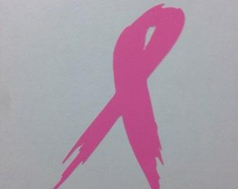 Breast Cancer- Pink Ribbon (6 Ribbons)