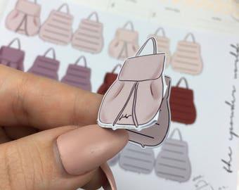 3D Aufkleber Rucksack Planer Herz tn Midori Reisende notebook