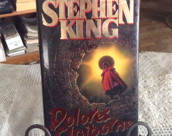 DOLORES CLAIBORNE by Stephen King, TRUE First Edition/First Printing Hardback
