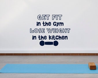 Lovely Gym Motivational Wall Decals