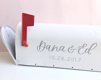 Custom Mailbox // Personalized Mailbox | Card Holder | Mailbox | Wedding Mailbox | Wedding Decorations | Gift Table | Wedding Gift
