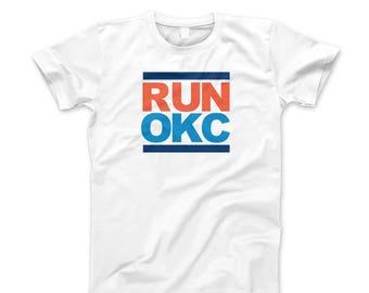 Oklahoma City T-Shirt basketball Westbrook MVP Thunder Run OKC Tee