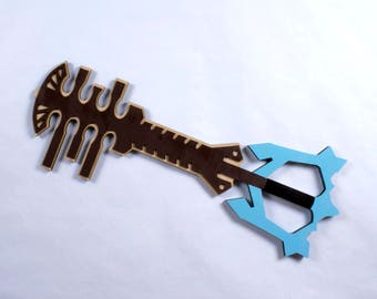 """31"""" Terra's Ends of the Earth Keyblade Competition Size Cosplay Replica"""