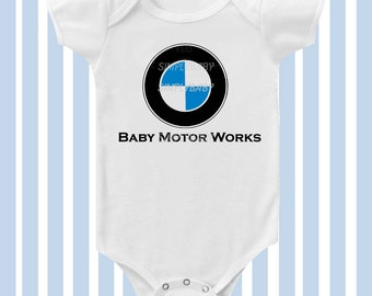 BMW Inspired Baby Bodysuit   By SimplyBaby