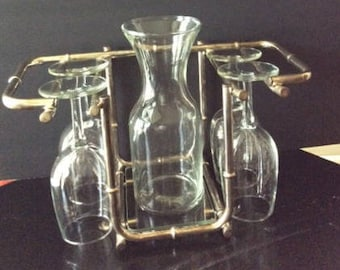 Silver Wine Decanter Barware