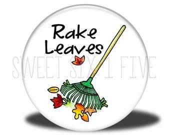 Rake Leaves - Chore Magnet